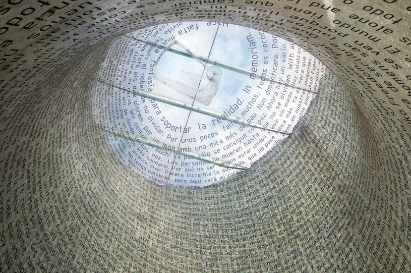 Memorial del 11-M en la Estación de Atocha (Madrid). Foto. Felipe Gabaldón